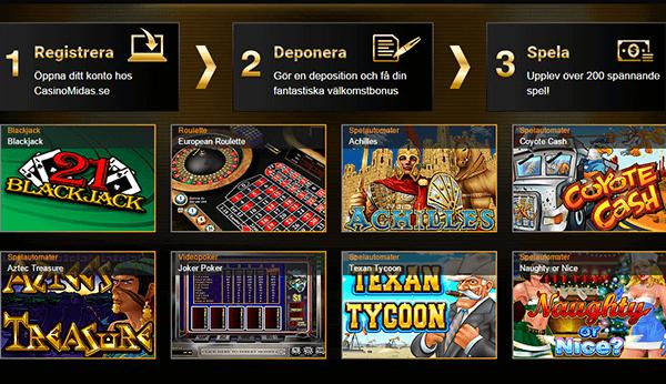 Casino Midas freespins