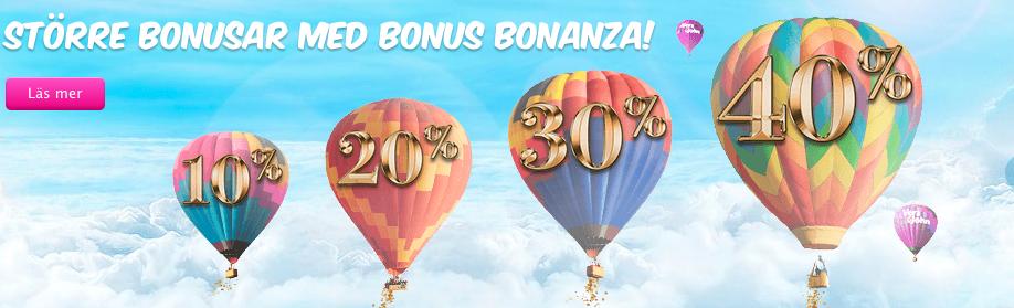 Vera & John bonus bonanza