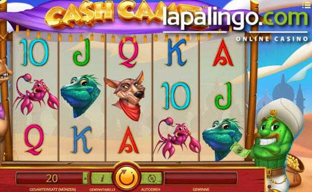 Lapalingo 10 € Utan insättning Cash Camel