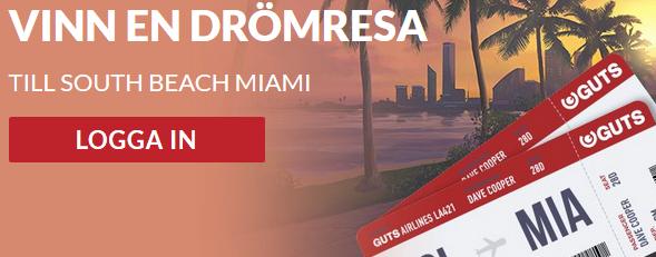 Guts vinn en drömresa till Beach Miami