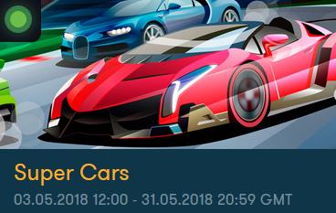 FrankCasino nätcasino Super Cars Prispool 15 000 €