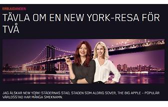 Nätcasino Maria Casino TÄVLA OM EN NEW YORK-RESA FÖR TVÅ!