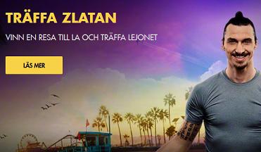 Nätcasino Bethard Träffa Zlatan Vinn en resa till Los Angeles och träffa Lejonet