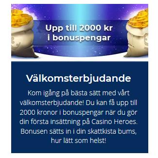 Registera dig på Casino Heroes och börja nyttja The Ruby Store!