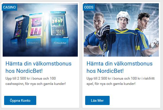 Skapa konto på NordicBet och vinn dagens jackpott så ingen annan gör det före dig!