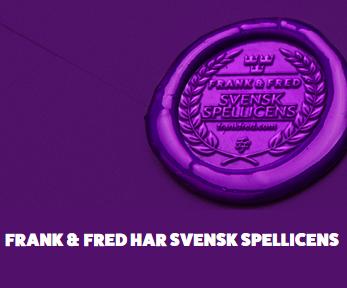 Hämta upp till 5000 kr bonuspengar på Frank & Fred Casino!