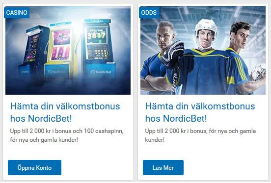 Registera på NordicBet och börja delta i 500 000 kronors turneringen nu!