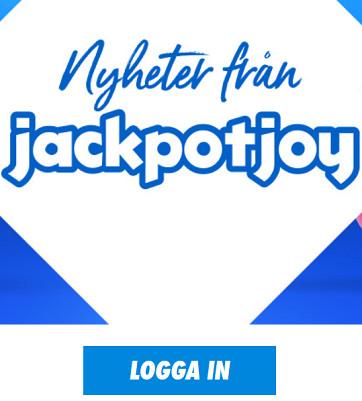 Registrera dig på Jackpotjoy och slåss om 25 000 kr!