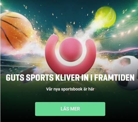 Prova nya Guts sportsbook nu!