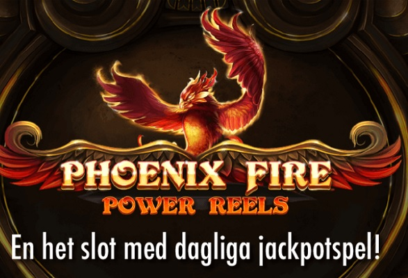 Spela nya heta Phoenix Fire Power Reels på Jackpotjoy!