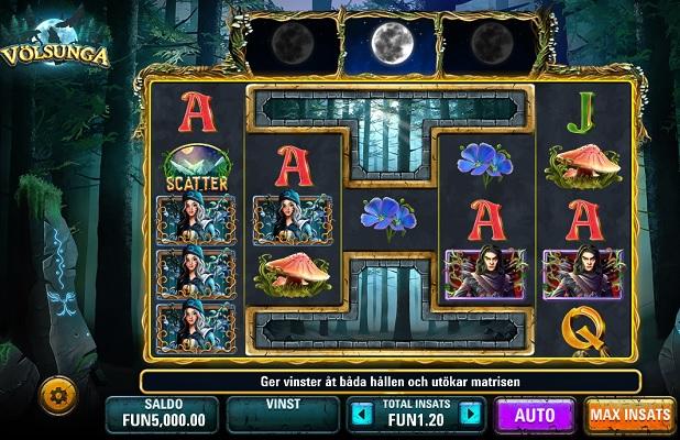 Spela Völsunga på iGame Casino!