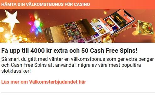 Börja spela jackpottspel nu på LeoVegas!