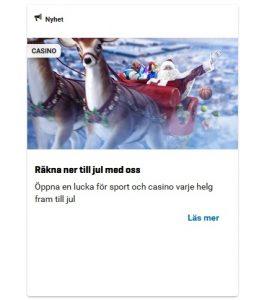 Njut av NordicBet Julkalender 2019!