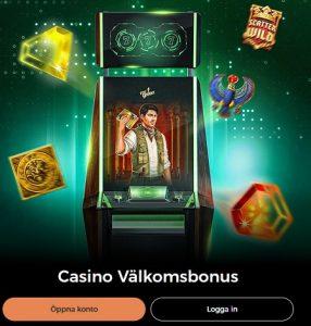 20 Free spins på Book of Dead hos Mr Green Casino!