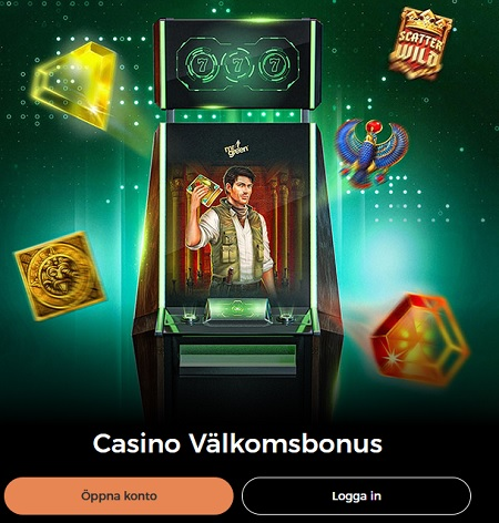 20 Free spins på Book of Dead hos Mr Green Casino!